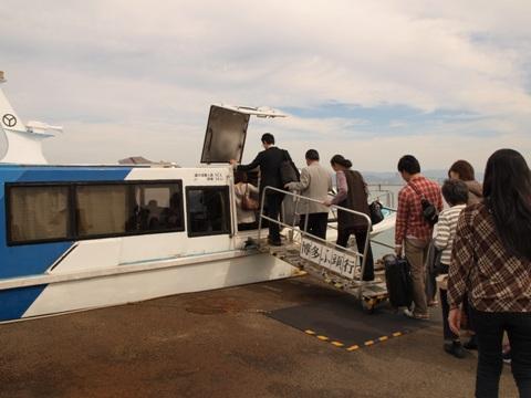 海の中道高速船乗り場(2010.10.11)
