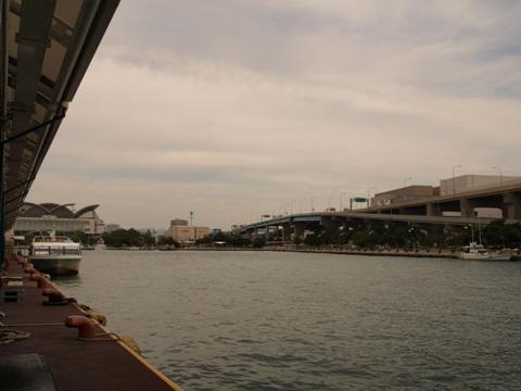 高速船降り場博多埠頭(2010.10.11)