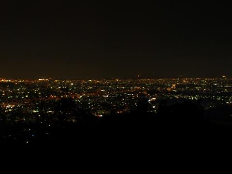 油山の展望台から(2010.10.11)