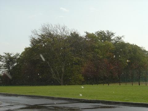 雪が来ました(2010.10.26)