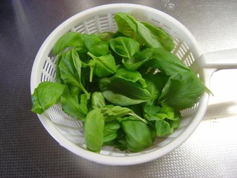 バジルとひよこ豆のパスタ01(2010.11.03)