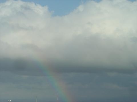 二時の虹(2010.11.12)