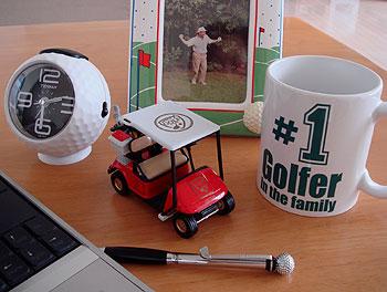 父の日に… ゴルフ雑貨をプレゼント!