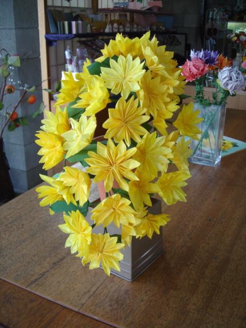 すべての折り紙 折り紙菊の折り方 : 懸崖の菊まとめをしました。