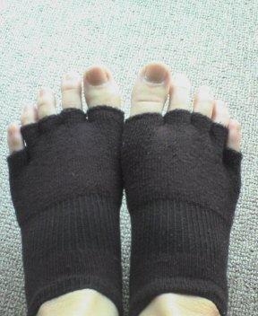 足の肌着インナーソックス2