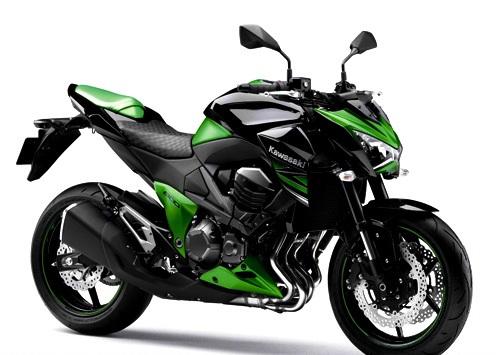 kawasaki z800 green
