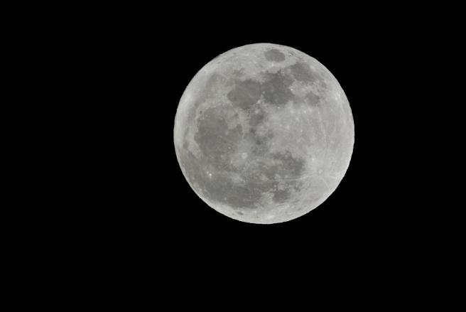 2012年最後も満月