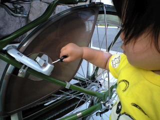 自転車鍵1