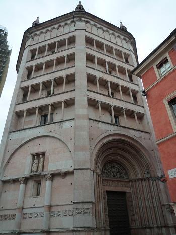 「2011-イタリア」⑤パルマ洗礼堂