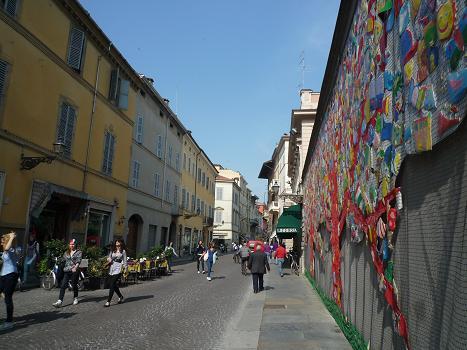 「2011-イタリア」⑤パルマサンタ・マリア街並み
