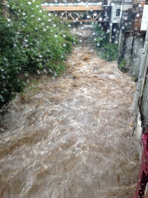 台風「桂川」1