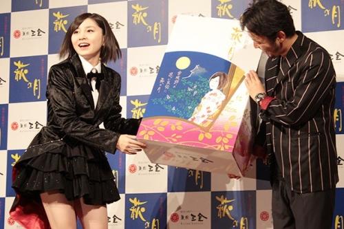 岩田華怜(16) 「家族みんなで赤飯でお祝いした」 CM出演に喜び