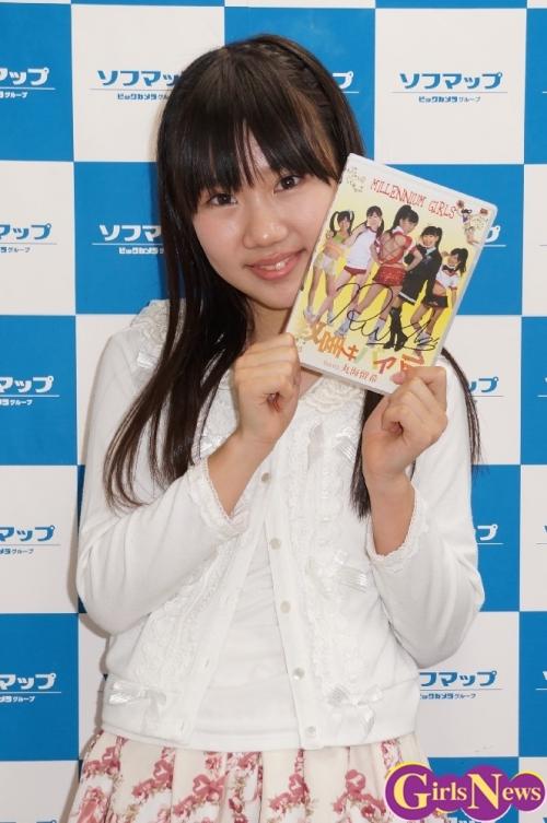 ミレニアムガールズで活動する丸海留希さんがソロPV&DVDをPR!「水鉄砲やサバイバルゲームなどをしたりしています」