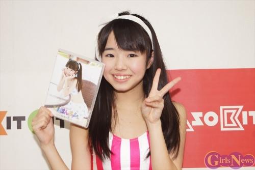 2000年生まれの踊れるティーンアイドル福本カレンさんが1stDVDをPR!「将来は(ソロで)歌手やモデルに挑戦したい」