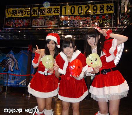 地下アイドル「仮面女子」、新曲が予約だけで既に10万枚突破
