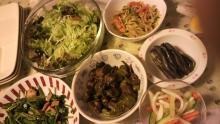 新・ほんやくやさんのにちじょーせーかつ-28日の夕飯(主菜は写ってません)