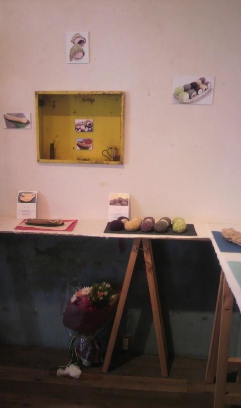 和菓子の編みぐるみ