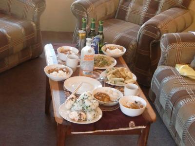 日本食のお昼