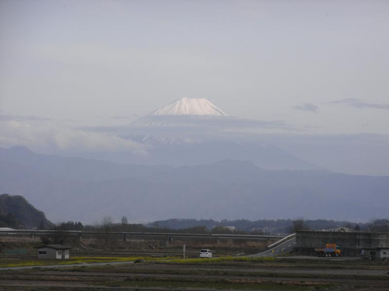 山梨側から見る富士もまた気持ちイイですね~♪