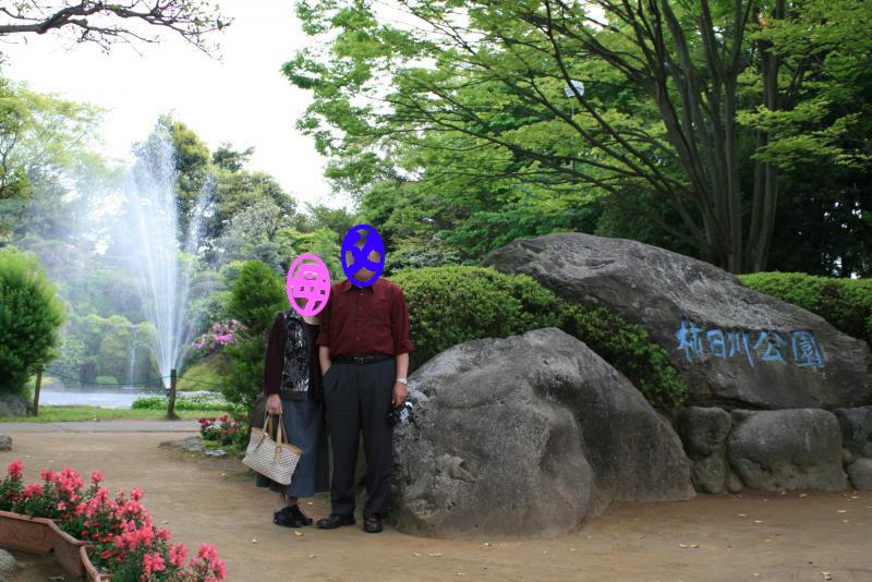 市街地の中にあって自然豊かな公園です。