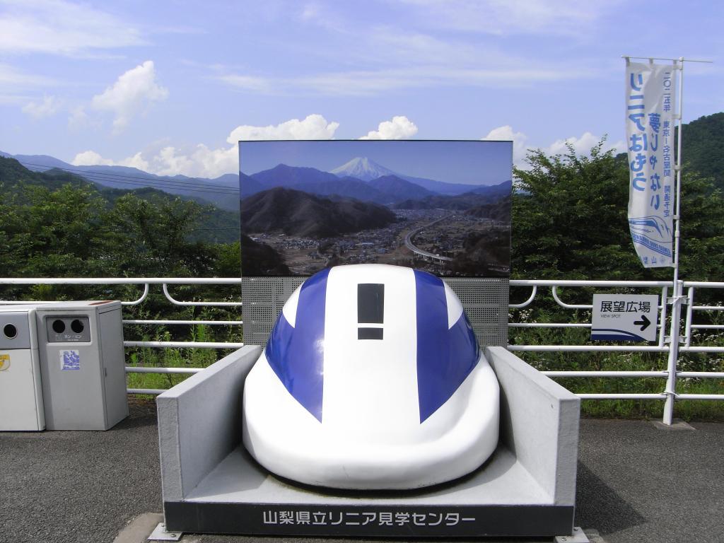 富士山はパネル上のみです(^^;