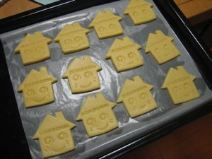 クッキー焼く前12軒