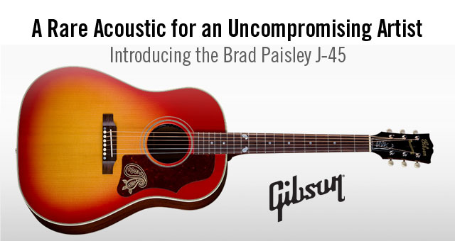 Brad Paisley J-45