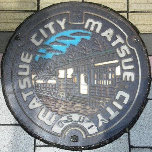 島根県松江市・安来市のマンホール - ぢめんのいりぐち