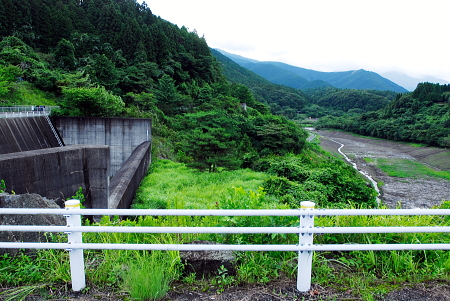 静岡県 大倉川ダム