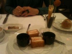 チーズフライ、パンフライ&海老、茶碗蒸し