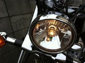 GZ150 ヘッドライト