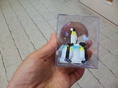 私たち用ペンギンスノーボール