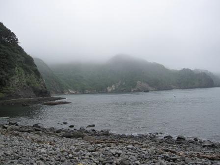 曇りのトガイ浜