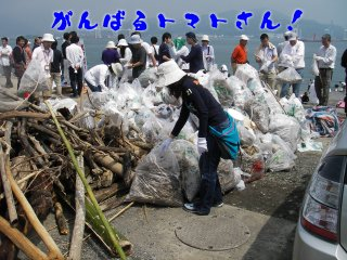 海岸清掃02