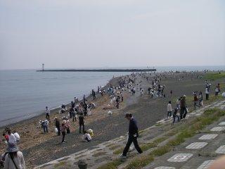 海岸清掃01