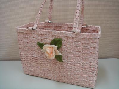 Tさん 桜色のバッグ