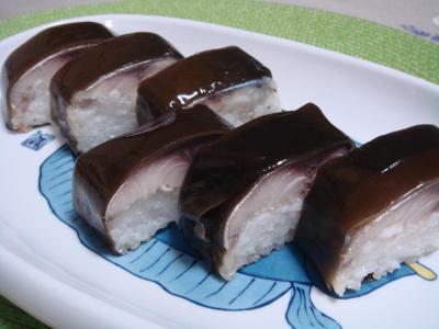 関サバ棒寿司 2