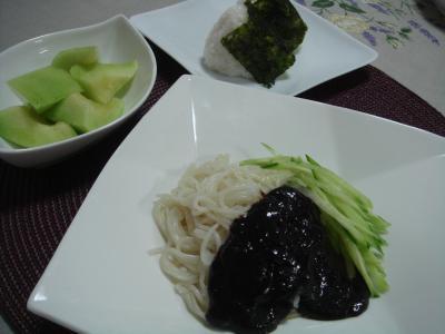 おうちランチ チャジャン麺