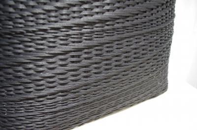 とばし編みバッグ 3