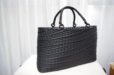 とばし編みバッグ 1