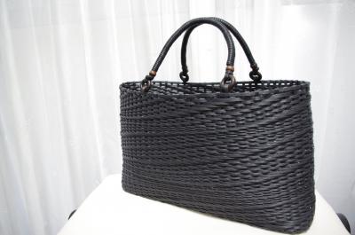 とばし編みバッグ 2