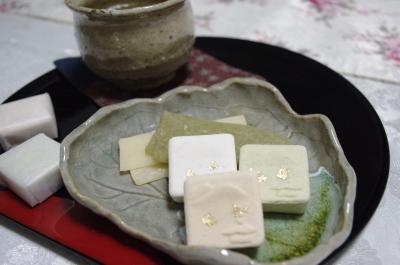 京菓子のおやつ