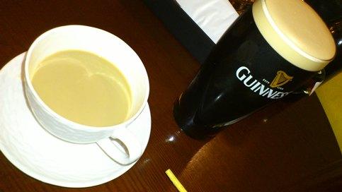 1 ギネスとコーヒー