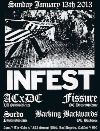 Infest Live