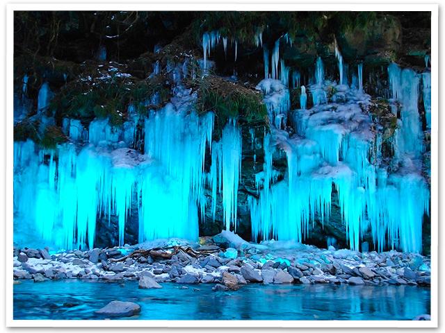 氷のオブジェ