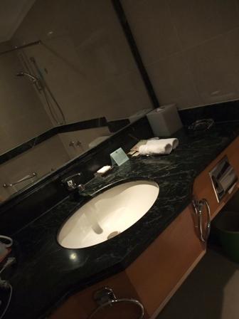 ペンタホテル 洗面台