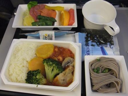 機内食 復路