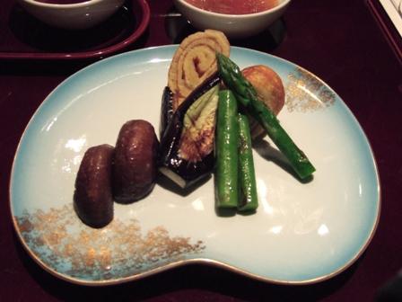 野菜とたまご焼き