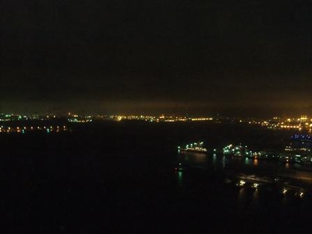 窓から 夜2