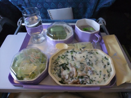 機内食 ベジタリアン